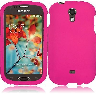Rubberized Protector Case (New Protector Hard Rubberized Cover Case For T-Mobile Samsung Galaxy Light T399 )