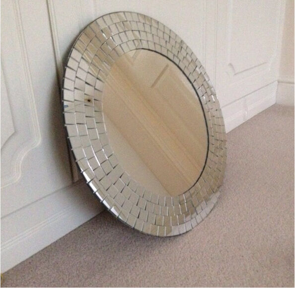 Ikea Tranby Round Mosaic Mirror in Watford  : 86 from www.gumtree.com size 594 x 579 jpeg 55kB