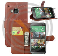 Galaxy S6, S6 Edge and HTC M9 PU Leather Flip Wallet Case