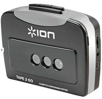 Ion Audio Cassette Tape To Mp3 Converter Tape2go Software...