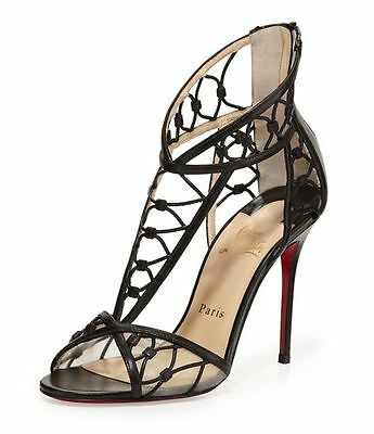 100% AUTHENTIC NEW WOMEN LOUBOUTIN MARTHA 100 KID HEELS/PUMPS US 8