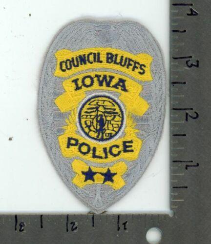 IOWA IA COUNCIL BLUFFS POLICE NEW PATCH SHERIFF