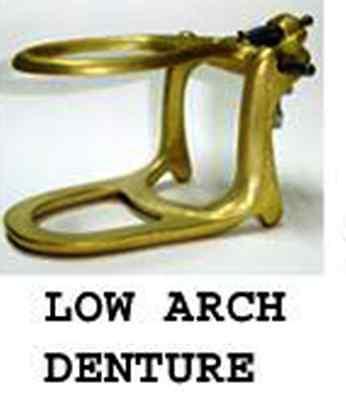 Dental Articulator Brass Denture Low Arch 6 Sets Meta Dental 603 Lab
