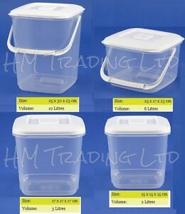 clear plastic food storage canister container tub freezer acrylic canisters clear round acrylic canisters the