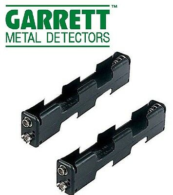 2pc AA Battery Holder for Garrett GTA GTAX GTX GTP & GTI Metal Detector 9401900