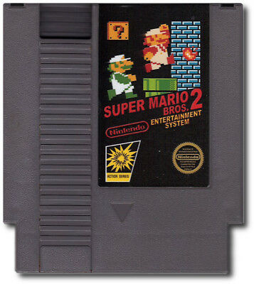Super Mario Bros. 2J The Lost Levels Nintendo Entertainment System NES Famicom