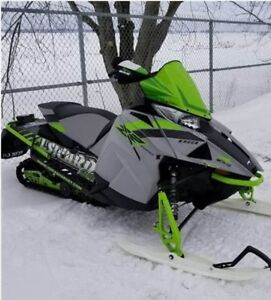 2018 Arctic Cat ZR 8000 ES 129