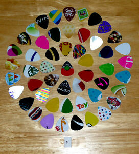 50 Guitar picks : One-of-a-Kind : Various Colors,Designs,Images Cambridge Kitchener Area image 2