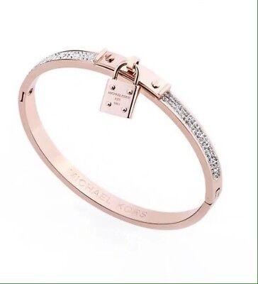 Michael Kors Bracelet Rose Gold With Michael Kors Pouch