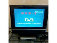 "19"" TV freeview hdmi"