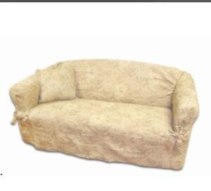 Paisley sofa cover