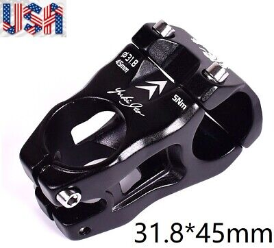KRSEC Aluminium 0° stems MTB Mountain XC AM DH Bike Short Stem 31.8*45mm