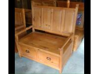 Beautiful Monks Bench - Can Deliver