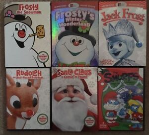 Classic Christmas Cartoon Dvd Collection