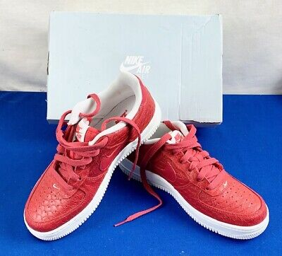 Nike Air Force 1LV8 (GS)  5Y  Action Red Youth Shoes