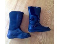 BMW motorcycle boots - good as new