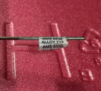 116 Super Alloy 718 Inconel Welding Wire Gtaw 2-18 Pieces. Tig Heli-arc