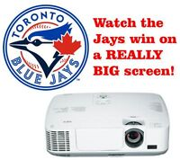 Watch the Blue Jays Win on a REALLY BIG SCREEN!