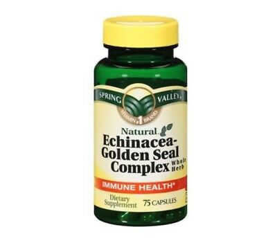 Spring Valley Echinacea Golden Seal Complex 450 mg 75ct