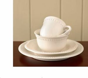 Pottery Barn Emma dishes set - beige