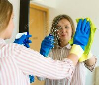CLEANING WOMAN AVAILABLE in Pickering, Ajax and Whitby