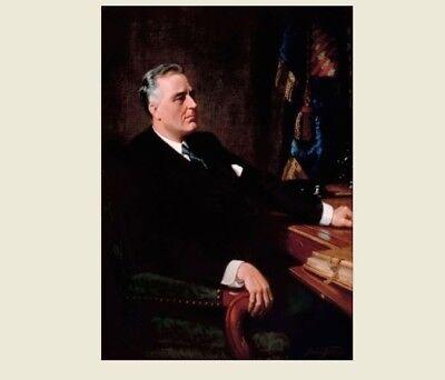 Franklin D. Roosevelt Presidential PHOTO Official Art, Portrait President FDR
