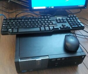 Ordinateur DELL Intel CPU i5, ram 8 gig , 500 gig disque,lcd 20""