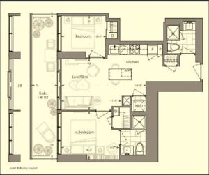 2 bedrooms, 2 washrooms YC condo rentals, Yonge & College