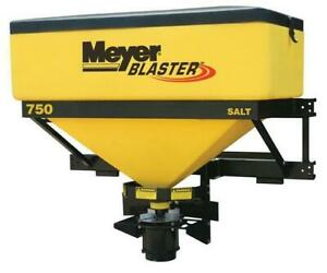 New Meyer Salt Spreaders - Walk Behind and Tailgate Salters in Stock!
