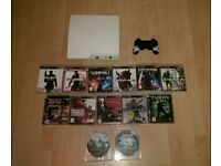 PS3 320gb with 13 games