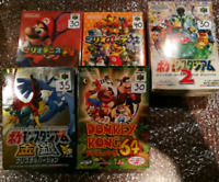 Japanese n64 titles  (region free) works on North American units
