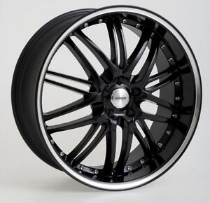 18 INCH VERDE KAOS WHEELS BLACK SUIT HOLDEN COMMODORE MODELS * BRAND NEW *