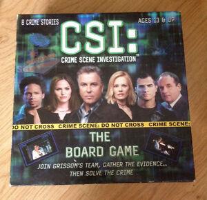 Board games - Payday, CSI, TriBond