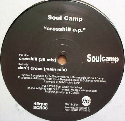 Soul Camp - Crosshill EP / VG+ / 12