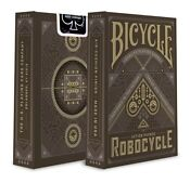 Black Bicycle Playing Cards