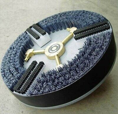 Truck Mount Extractor Rotary Tile Grout Cleaning Head For Rotovac 360i