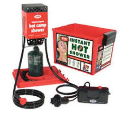 Zodi Outback Gear HOT TAP (Hard Case, Piezo Ignition) 6185 Water Heater NEW