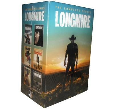 Longmire Complete TV Series Seasons 1-6 DVD New Sealed 1 2 3 4 5 6 CHEAP
