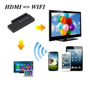 Récepteur HDMI Miracast WIFI pr TV Cell Tablette Portable  YYYY