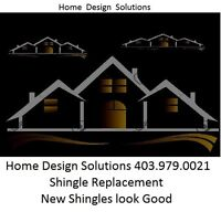 Shingle Removal & Replacement 403.979.0021