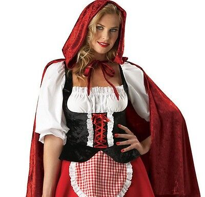 Little Red Riding Hood Wolf Halloween-kostüme ( Little Red Riding Hood  Adult Halloween Costume NEW incharacter big bad wolf)