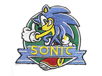 """Mailed from USA Sonic the Hedgehog//SEGA 3/"""" Embroidered Patch ANPA-SONIC-05"""