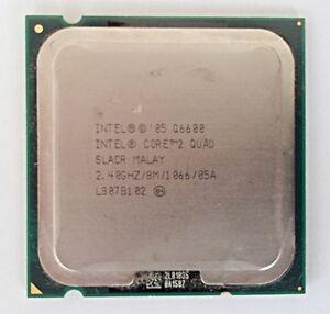 Intel Core 2 Quad Q6600 2.4 GHz CPU SOCKET 775 Processor SLACR ~ GREAT VALUE
