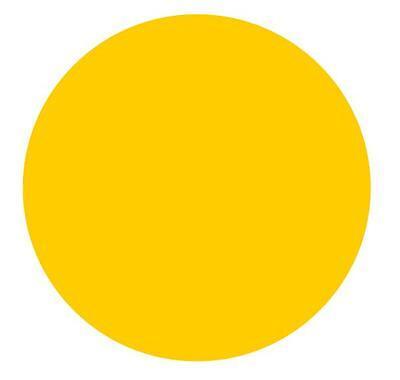 Markierungspunkte Klebepunkte 15mm Leuchtgelb Gelb 150 300 450 600 750 900 1050