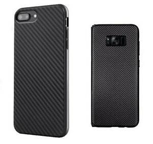 Carbon Fiber Heavy Duty TPU Shockproof Case For iPhone Samsung Granville Parramatta Area Preview