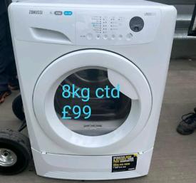Zannusi 8kg condenser dryer free delivery in Birmingham