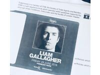 2 x Liam Gallagher tickets @ Finsbury Park - £120