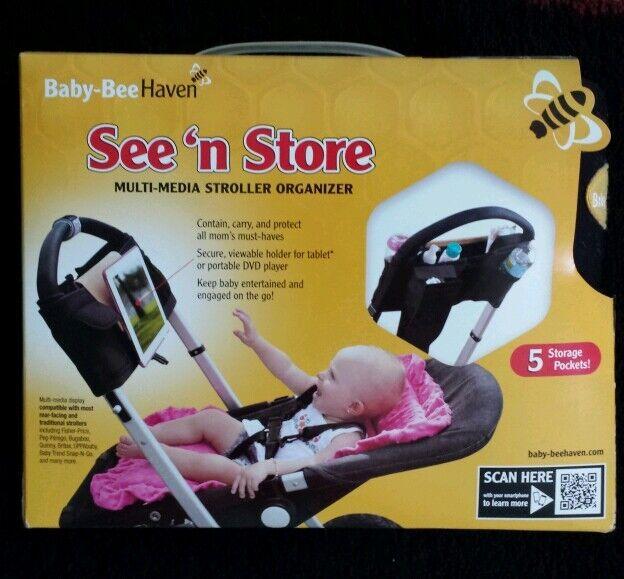 SEE N STORE STROLLER ORGANIZER BABY BEE HEAVEN