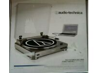 Audio Technica USB or Analogue turntable - New unwanted gift - ideal for Christmas