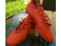Adidas 16.3 X Techfit football boots - size 5